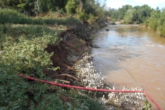 Erosion de berges